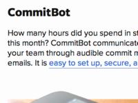Commitbot