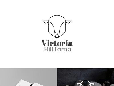 Logo Victoria Lamb lettering minimal animation icon typography illustration design branding professional logo modern logo minimalist logodesign logo