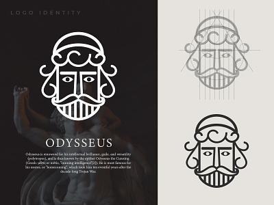 LOGO ODYSSEUS modern design modern design product desaingrafis simple logo mythological myth professional logo logodesign icon modern logo typography logo minimal illustration design branding