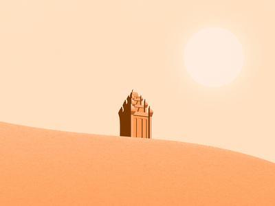 Champa tower - Núi Nhạn