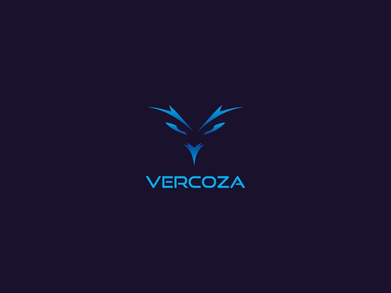 VERCOZA - Logo Design logo trends 2020 logo2020 logo trend branding illustration gradiant graphicdesign logo design logodesign modern logo minimalist logo