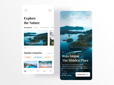 Travel app ui ux ui trend nature ui  ux mobile app design mobile app ui design travel app design travel app travel