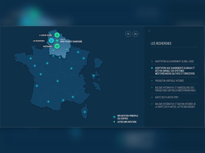Interactive Map Of France.Interactive France Map By Marouane Dekkaki On Dribbble