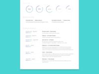 Clean Resume - Light