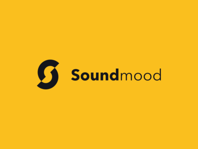 Daily Design — 001 black yellow sound circle logo challenge design daily