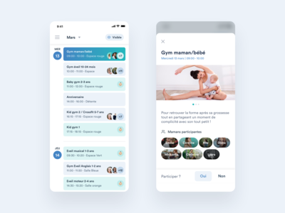 Baby Gym app