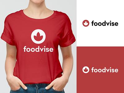 Foodvise - Logo project goodies brand identity branding design brand design identity logo design tshirt logo brand branding foodvise