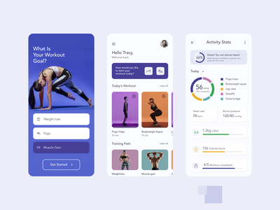 fitME Fitness App Concept sport gym training health android ios mobile fitness app fitness typography design branding concept mobile app app design uiux ux ui