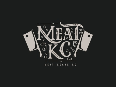 manual hand Logo Meat Vintage knife classic design vector logo restaurant logo vintag vintage logo meat illustraion branding design brand design logos branding brand identity brand