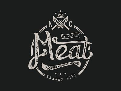 manual hand lettering meat logo handlettering retro logo clasic restaurant meat logo meat vintage logo vintage illustration logodesign vector logo branding design logos brand design brand brand identity branding
