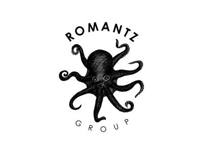 the octopus logo sea