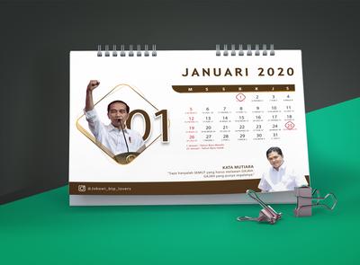 Design Calender 2020