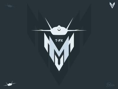 TF-X (MMU) Logo and Icon tf-x combat fighter aircraft air turkish icon logo mmu tfx