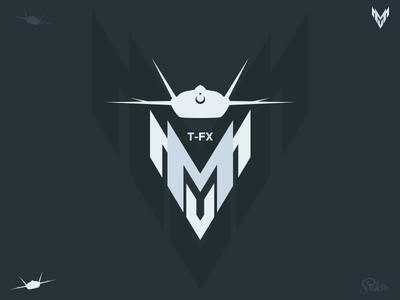 TF-X (MMU) Logo and Icon tf-x combat fighter aircraft air turkish icon logo mmu tfx