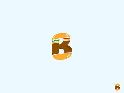 Burger King brand identity burgers bread meat branding brand logo king