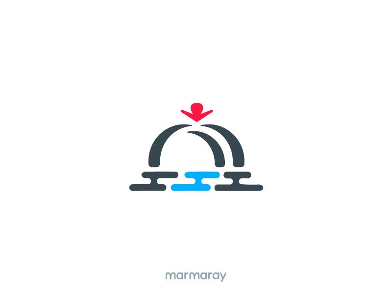 Marmaray Rail Logo Idea railway rail istanbul metro logo marmaray