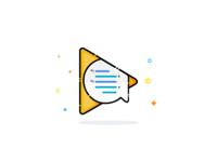 Google Allo (play icon)