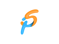 """Spaksu's Logo """"S"""" and """"P"""" Letter"""