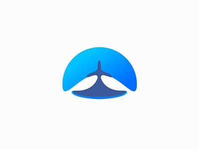 Plane Logo amblem uçak blue logo plane