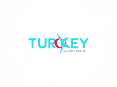 Turkey logo turkiye a beautiful country crescent moon country turkey