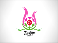 Turkish Football Federation Logo Idea (tulip)