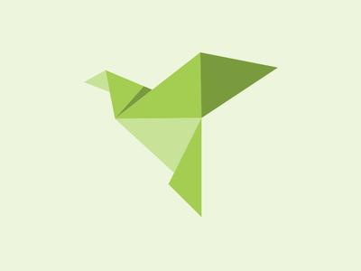 Bird bird animal polygon