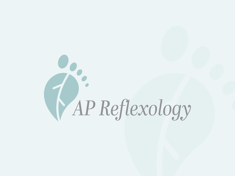 AP Reflexology Logo Design