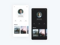 Profile - Photography App