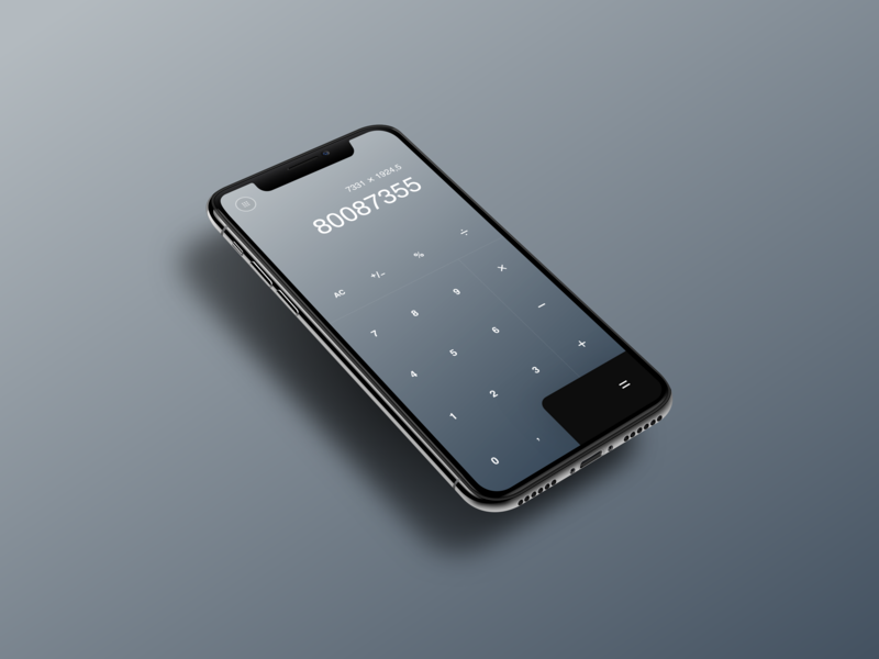 Elegant Calculator App calculation luxurious luxury mobile app android ios abstract numbers minimal simple clean calculator app gradient min plus calculate calculator app mobile elegant