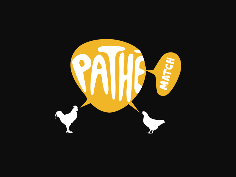Pathé Match matcher hen chicken my pathe cinema logo movie logo movies cinemas cinema movie black yellow matching matchmaker logo dating match pathe match pathe pathé