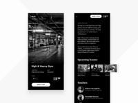 Gym Booking App