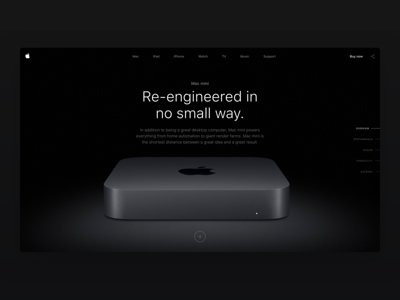 Apple Mac Mini - Product Detail page