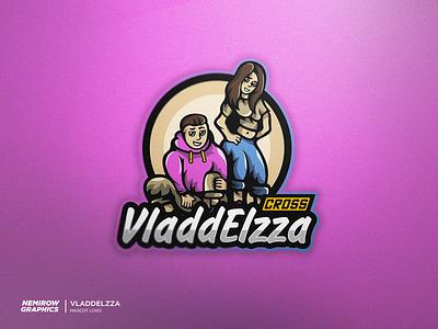 Mascot logo - VladdElzza mascotlogo vector logo mascot illustration illustrator esportslogo design