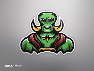 Mascot logo - Karter! vector mascotlogo mascot logo illustration esportslogo illustrator design