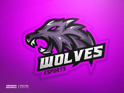 Mascot logo - Wolves vector mascotlogo mascot logo illustration esportslogo illustrator design