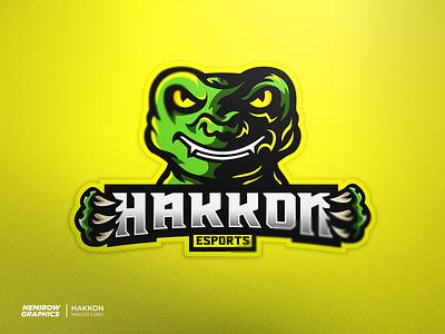 Mascot logo - Hakkon! vector mascotlogo mascot logo illustration esportslogo illustrator design