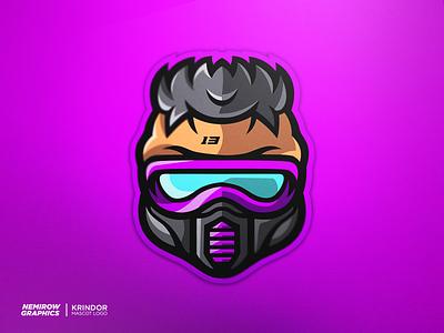 Mascot logo - Cyberpunk vector mascotlogo mascot logo illustration esportslogo illustrator design