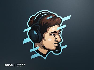 Portrait - JetFire vector mascotlogo mascot logo illustration esportslogo illustrator design