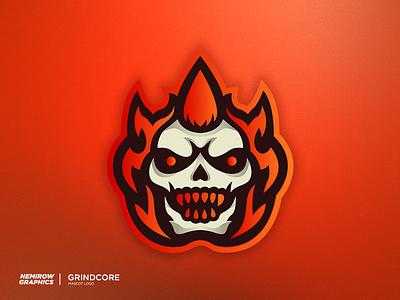 Mascot logo - Fire Punk vector mascotlogo mascot logo illustration esportslogo illustrator design
