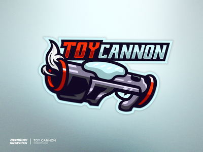 Toy Cannon - Mascot logo vector mascotlogo mascot logo illustration esportslogo illustrator design