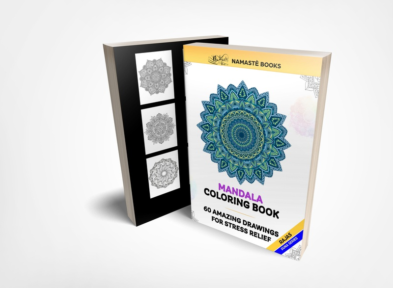 Mandala Coloring book branding kindle direct publishers kindle direct publishers selfpublishing fiverrdesigner fiverr.com fiverr mandala coloring book mandala illustration illustrator booking kindlecover ebook kindle bookcover book