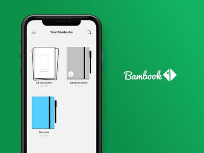 Bambook MVP Concepts uidesign ui design prototype ui