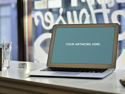 Free Macbook Air 13inch PSD Mockup from mckps.co