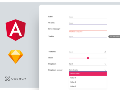 Designsystems at work ux bootstrap angular sketch ui design system