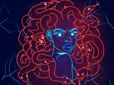 Glowing Medusa