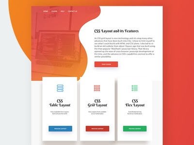 Learning Center | Course App - LMS Landing Demo application css frontend ui ux course lms learning management learning center apps web app