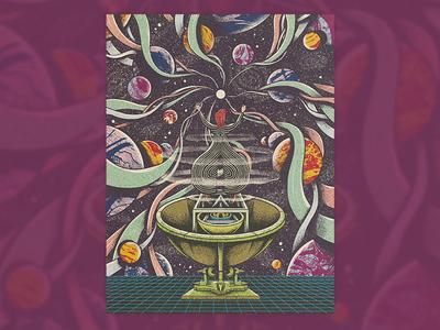 Zarzuela Alien lowbrow art direction print surrealism design editorial press yorokobu magazine illustration