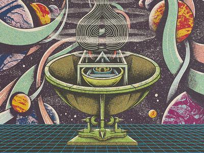 Zarzuela Alien lowbrow surrealism editorial press yorokobu print magazine design illustration