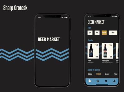 Online beer market