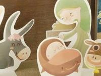 Nativity scene [paper set]